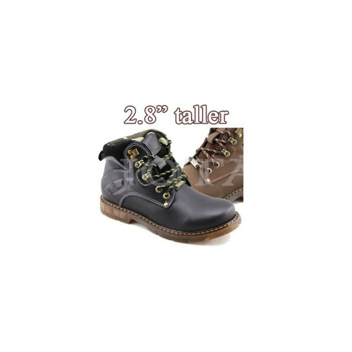 "TB84, Men High Heel Boots, 2.8"" Height"