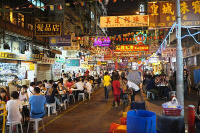 Побывать на азиатском ночном рынке
