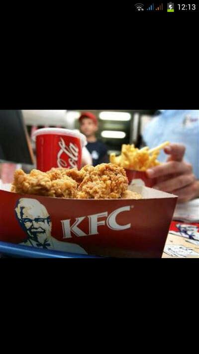 Покушать в KFC