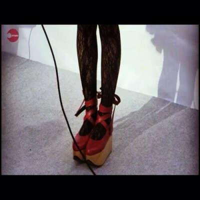 Vivienne Westwood Rocking Horse Ballerina Shoes