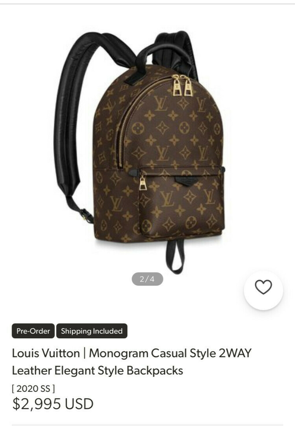 Backpack LV