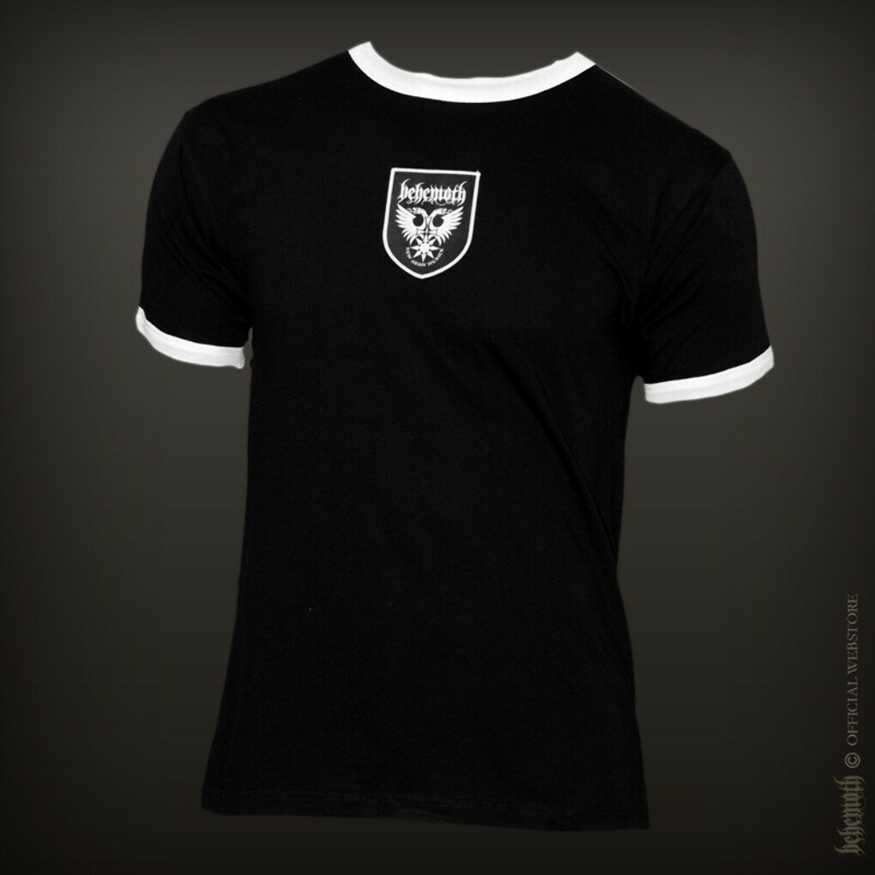 """Behemoth 93rd Legion"" black t-shirt"
