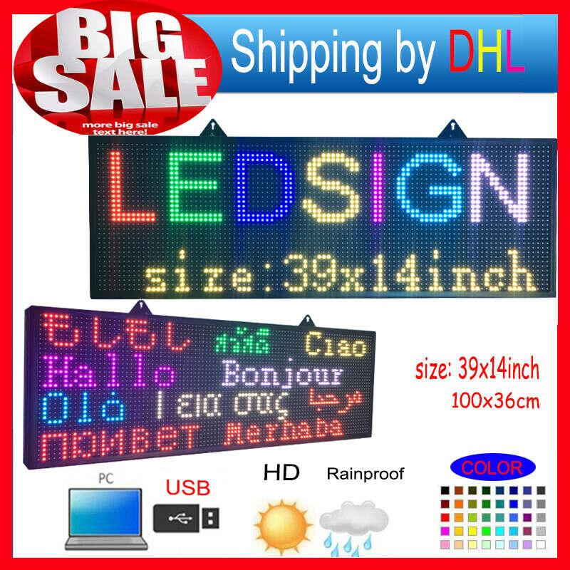 16693.81руб. 6% СКИДКА|Полноцветный RGB программируемые светодиодные вывески/P10 smd наружный светодиодный прокрутка сообщения дисплей/высокая яркость светодиодный дисплей|message display|programmable led signsled display | АлиЭкспресс