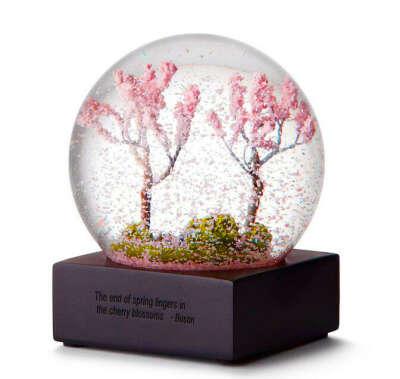 Стеклянный шар «Весна»