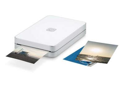 Портативный принтер LifePrint с функцией мгновенной печати, белый