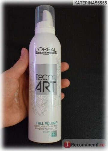 Мусс для укладки волос Лореаль