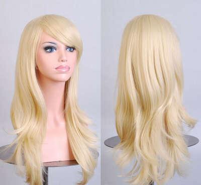Длинный блонд