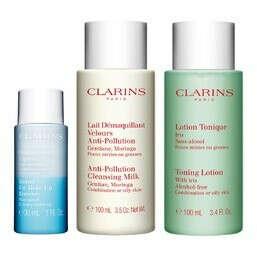 Набор очищающих средств для комбинированной или жирной кожи лица