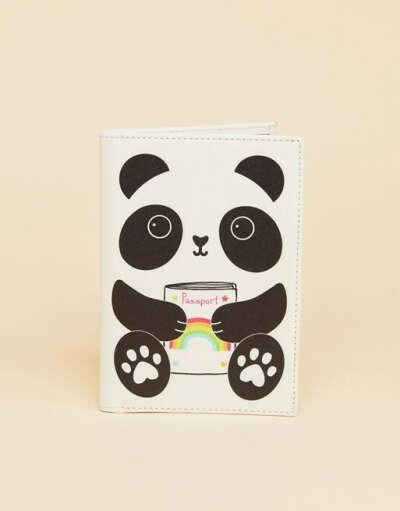 """Обложка для паспорта с дизайном """"Панда"""" Sass & Belle"""