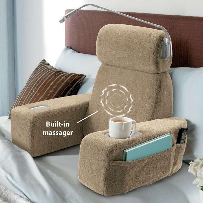 Массажное кресло на кровать