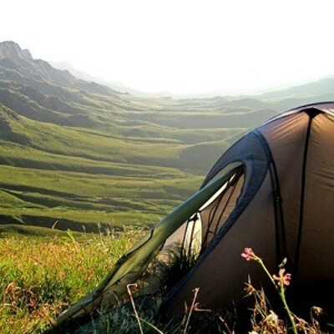 Переночевать в горах в палатке