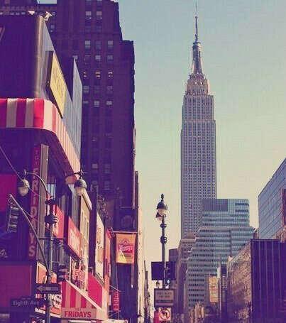 поехать в Нью Йорк