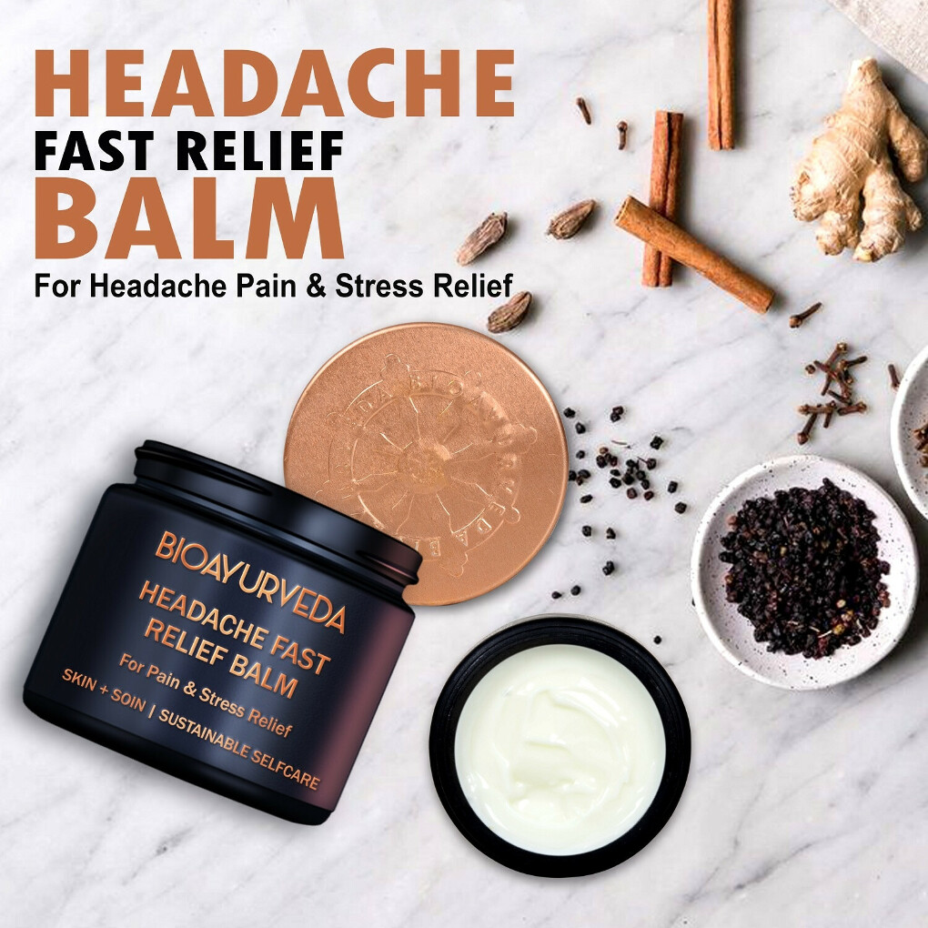 Headache Relief Balm For Complete Headache Solutions
