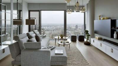 Жить в красивой просторной квартире