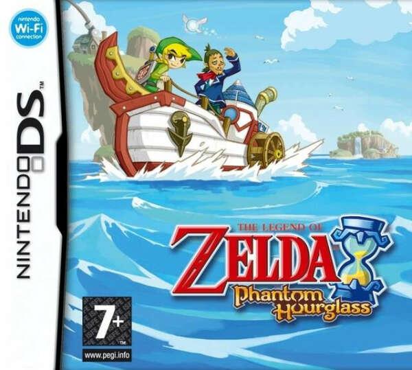 The Legend of Zelda: Phantom Hourglass для DS