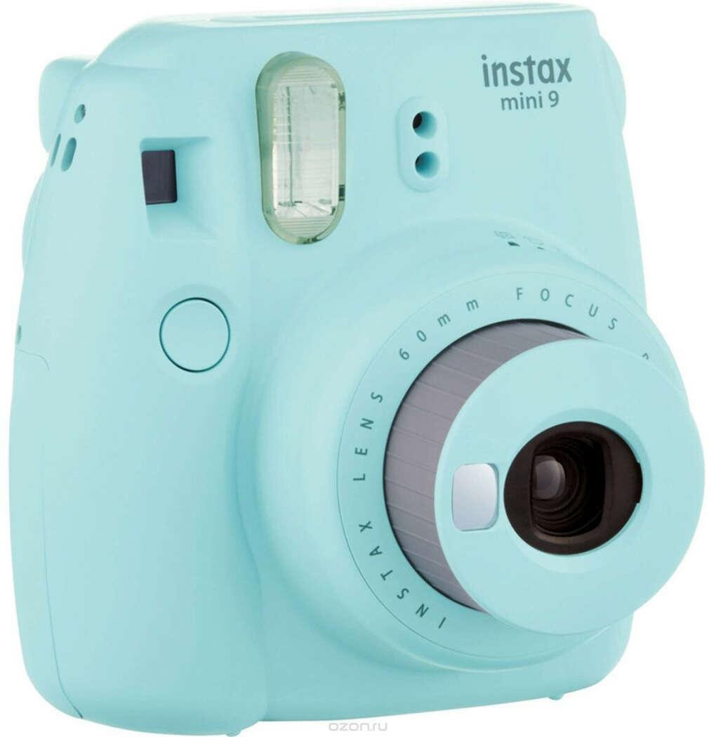 Fujifilm Instax Mini 9, Light Blue фотокамера мгновенной печати