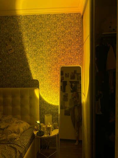 Светильник Rainbow Sunset прожекторная лампа для дома. цвет Sunset Red