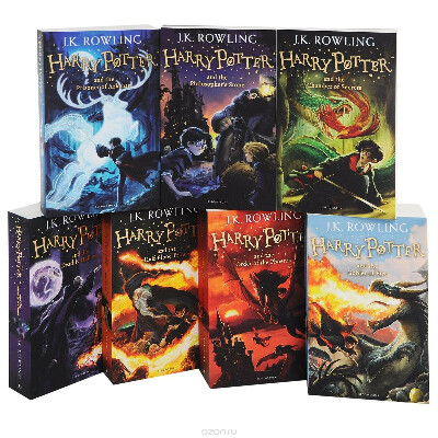 Garry Potter collection (English version)