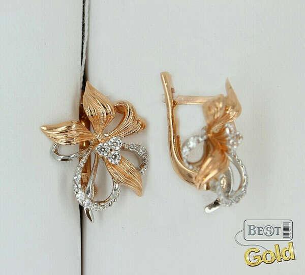 хочу золотые серьги