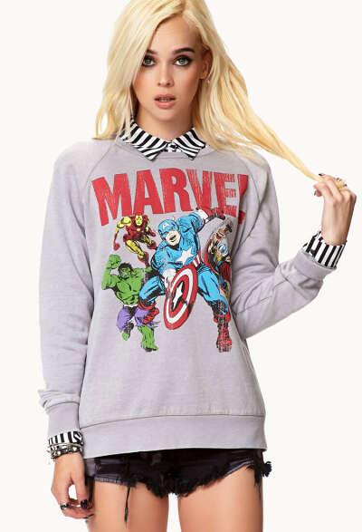 Marvel© Characters Sweatshirt