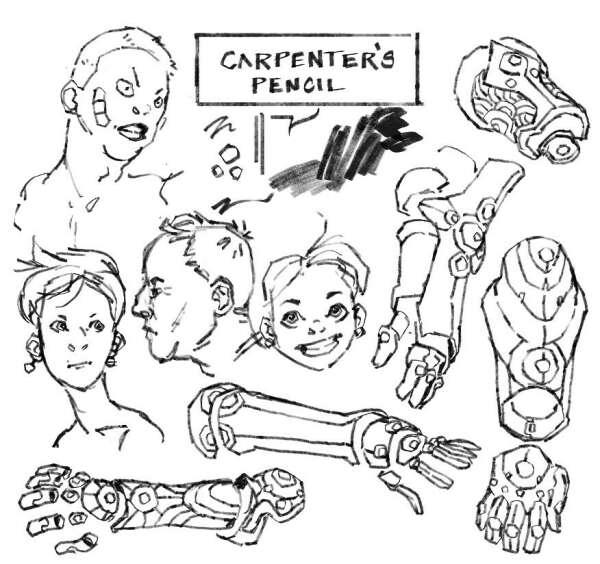 Paul Carpenter's Pencil