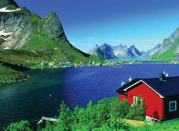 Туры \ Норвегия \ Автобусные экскурсионные туры \ Туры по фьордам Норвегии \  Автобусные туры c паромной компанией TALLINK SILJA