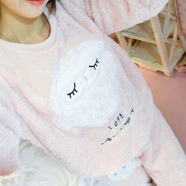 Тёплая пижамка owl