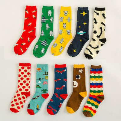 Яркие носочки с прикольными принтами