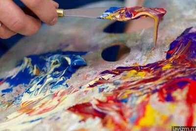 Нарисовать картину маслом