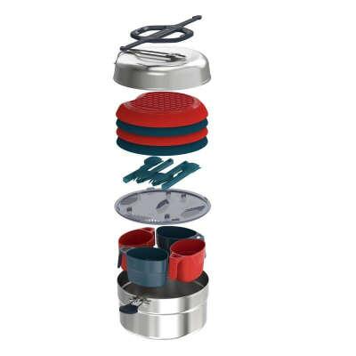 Набор походной посуды на 4 человек (Декатлон Quechua)