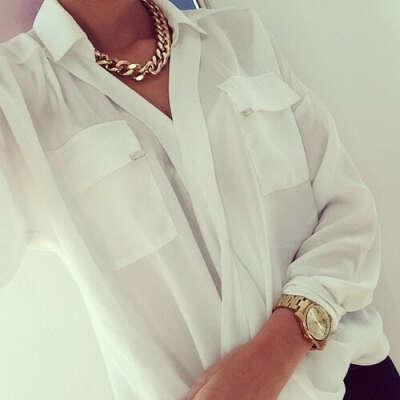 Купить хорошую белую рубашку