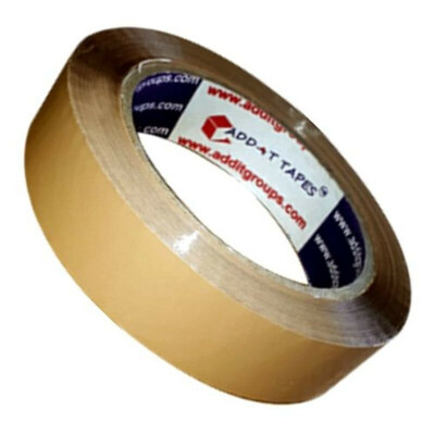 Brown Tape 1 inche 60 meter Roll ,Pack of 5 Rolls