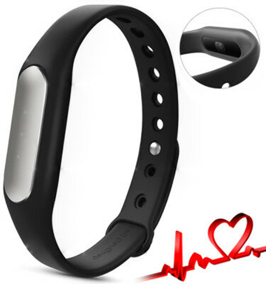 Фитнес-трекер Xiaomi Mi Band 1S Pulse (Black) с пульсометром
