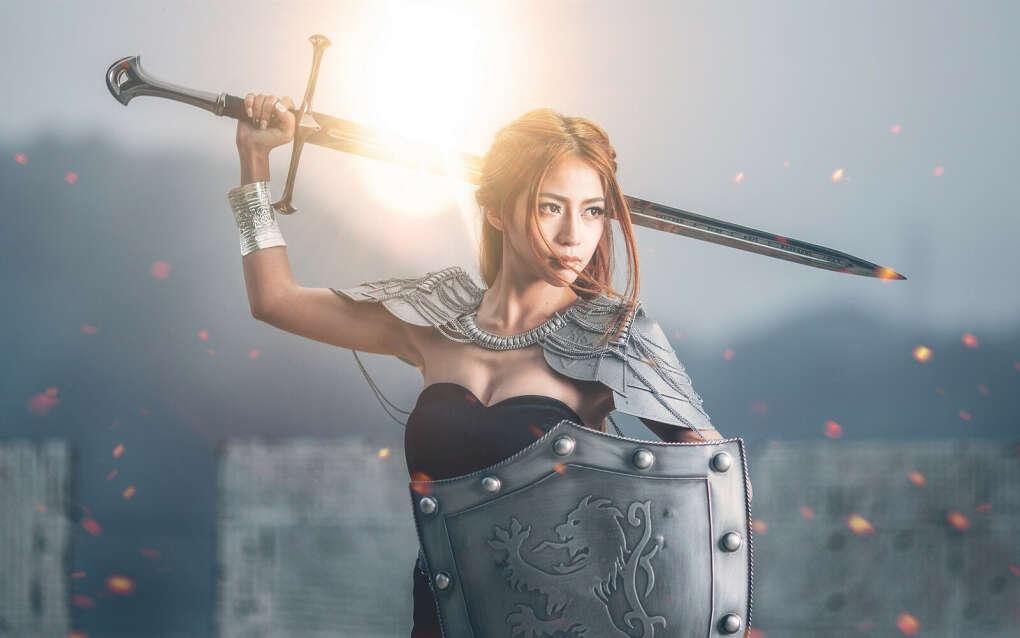 Хочу настоящий меч