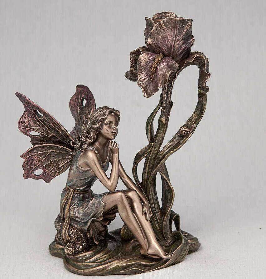 Подсвечник Veronese Фея с цветком