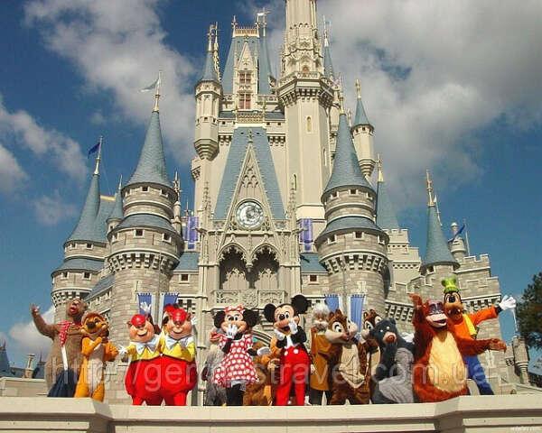 В Disneyland!