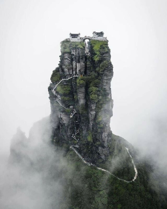 Побывать на горе Фаньцзиншань (Китай)