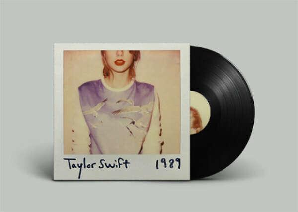 """Альбом Taylor Swift """"1989"""" на виниле"""