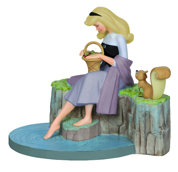 "Precious Moments, Disney Showcase Collection, ""Dreams Of Love"", Bisque Porcelain Figurine"