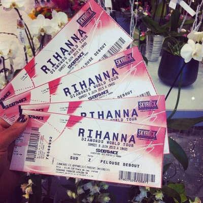 сходить на концерт Рианны