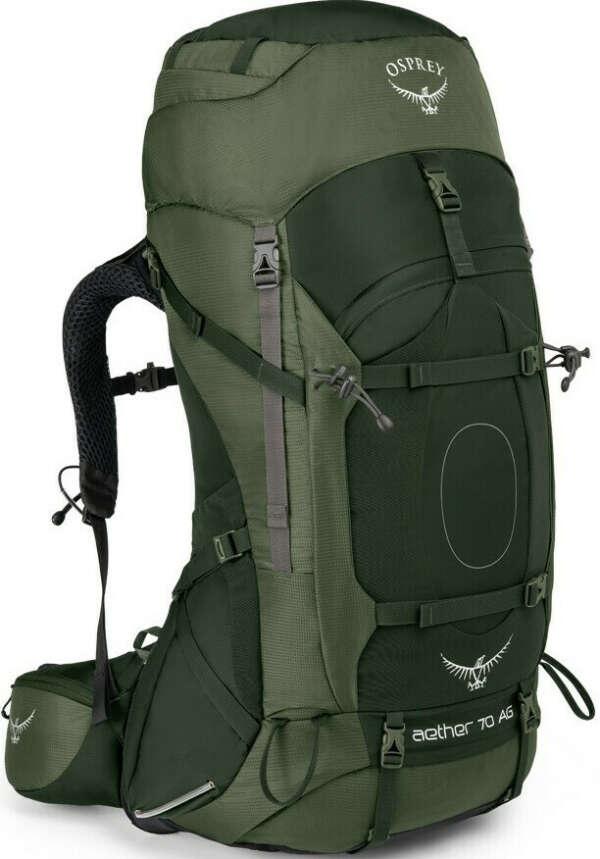 Рюкзак Osprey Aether AG 70 Adriondack Green