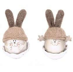 """статуэтка """"Кролик в яйце"""""""
