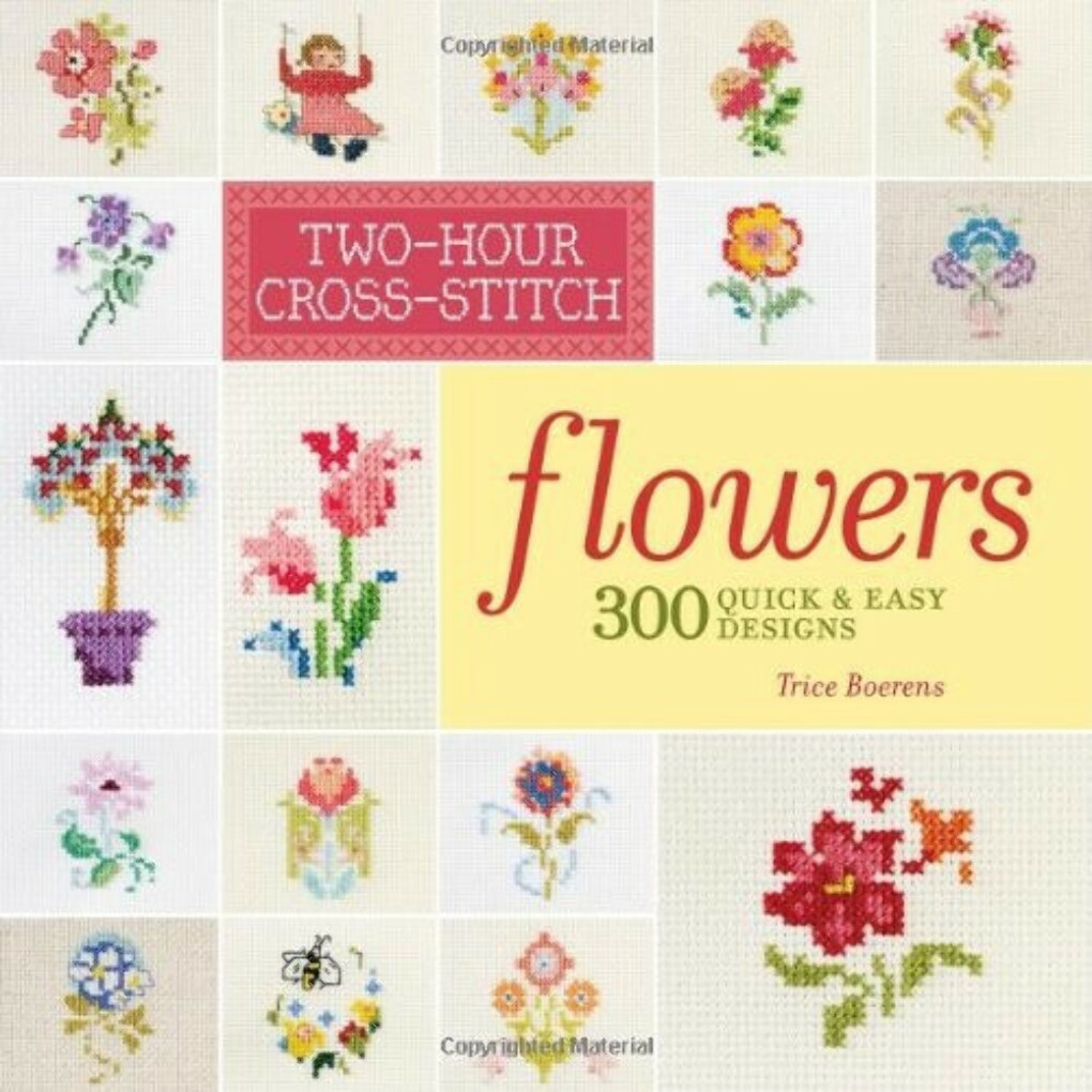 Two-Hour Cross-Stitch: Flowers