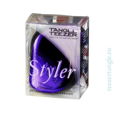 Расческа для волос Tangle Teezer Compact Styler Purple Dazzle