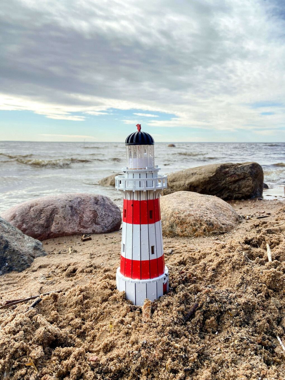 Модель сборная деревянная: маяк Паллисер