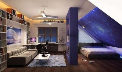 Крутую комнату