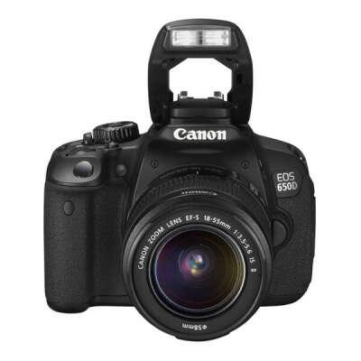Canon EOS 650D Kit 18-55 IS Black