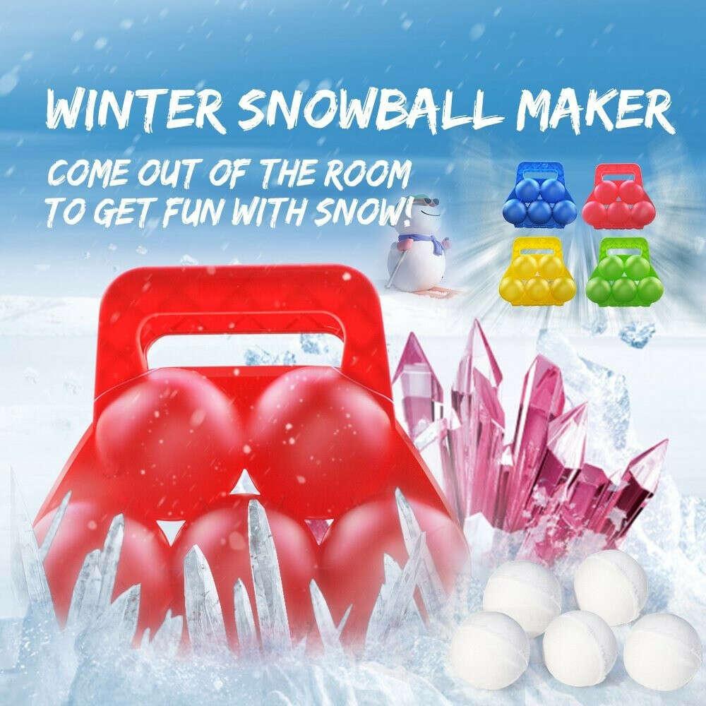 Snowball maker for 5 balls