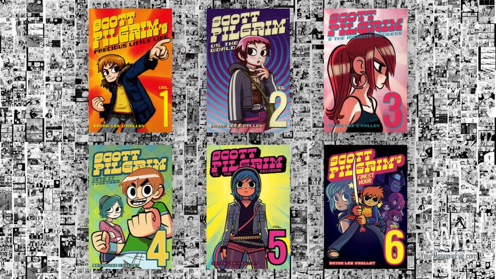 Комиксы Скотт Пилигрим (6 томов)