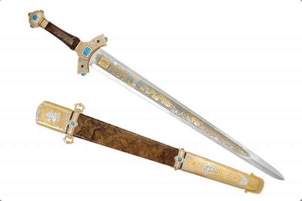 Настоящий русский меч, высокой закалки